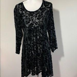 Caron Joy for Designworks LA Velvet burnout dress